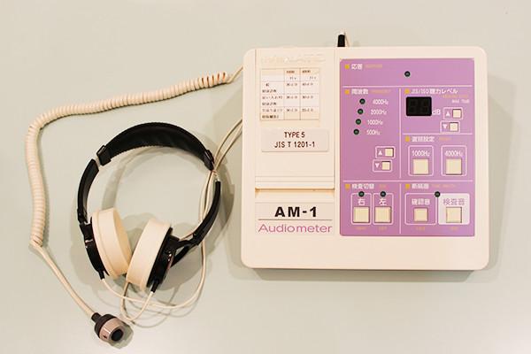 聴力検査器
